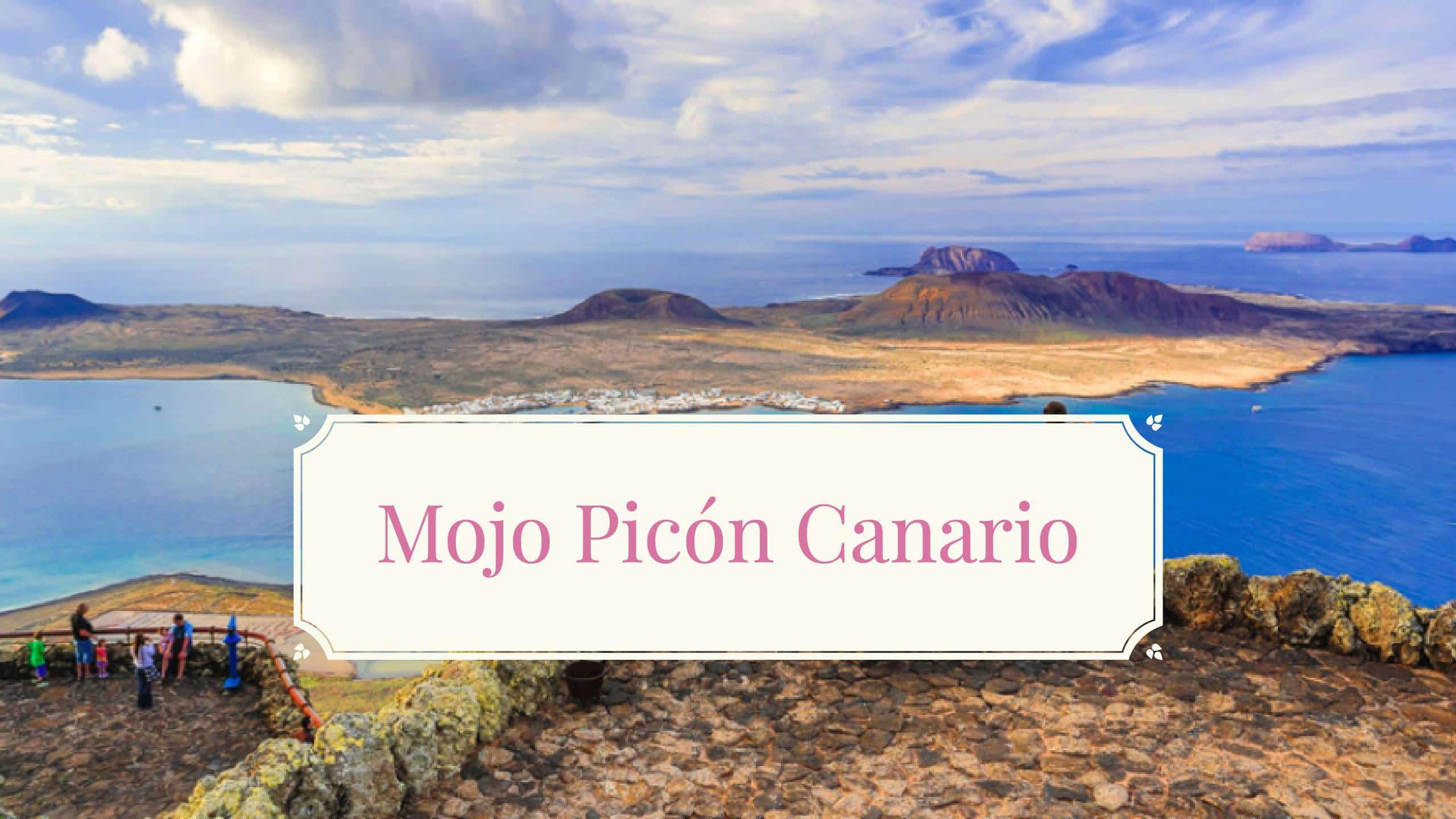 Receta Mojo Picón canario
