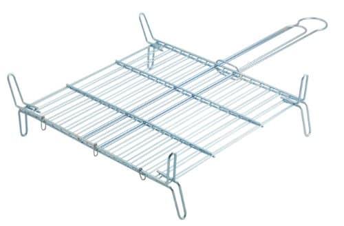 Metaltex 730440 - Parrilla doble especial, 40 x 40 centímetros